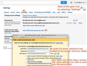 Complete the Process of Configuring Your eEdge Email Into Google